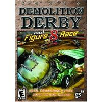 Demolition Derby and Figure 8 Race PC GAME- NEW
