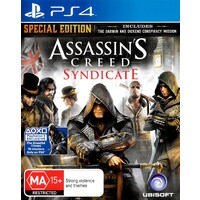 ASSASIN'S CREED SYNDICATE PS4 Playstation 4 Game - Disc Like New
