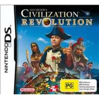 SID MEIER'S CIVILIZATION REVOLUTION Nintendo DS Pre-owned Game: Disc Like New