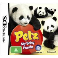PETZ: MY BABY PANDA Nintendo DS GAME GREAT CONDITION