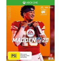 Madden 20 Xbox One PRE-OWNED GAME: GREAT CONDITION