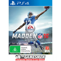 MADDEN 16 PS4 Playstation 4 PRE-OWNED GAME: GREAT CONDITION