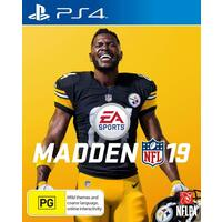 Madden NFL 19 PS4 Playstation 4 Game - Disc Like New