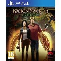 Broken Sword 5 The Serpent's Curse PS4 Playstation 4 Game - Disc Like New