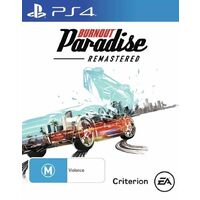 Burnout Paradise Remastered PS4 Playstation 4 Game - Disc Like New